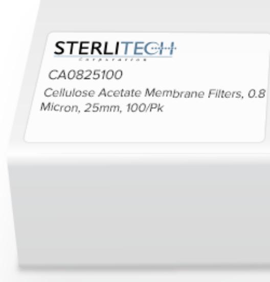 Picture of Sterlitech Cellulose Acetate (CA) Membrane Filters - CA0825100