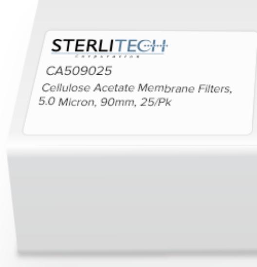 Picture of Sterlitech Cellulose Acetate (CA) Membrane Filters - CA509025