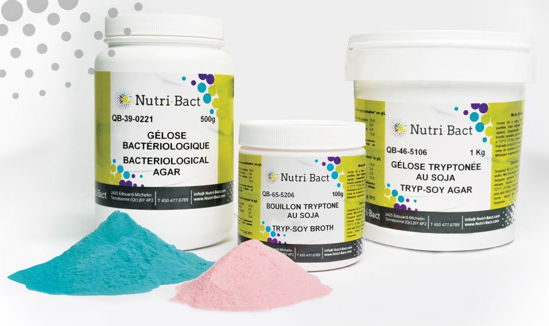Picture of Nutri-Bact Dehydrated Culture Media - QB-39-5605