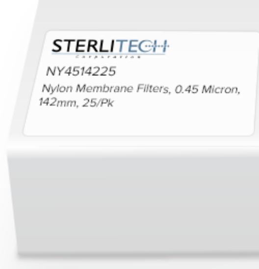 Picture of Sterlitech Nylon Membrane Filters - NY4514225