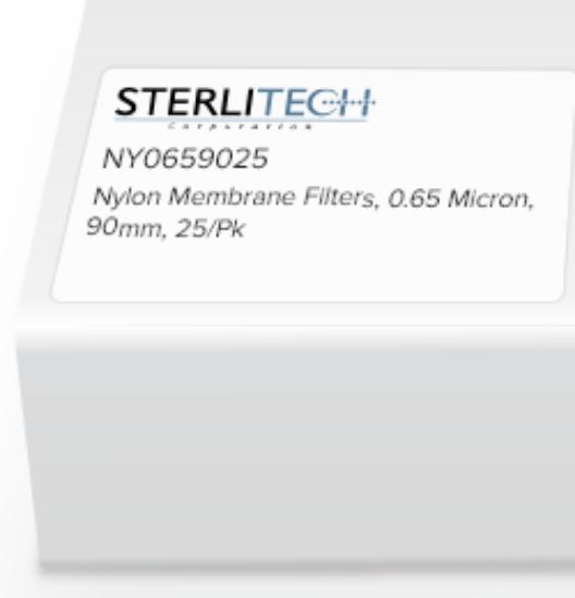 Picture of Sterlitech Nylon Membrane Filters - NY0659025