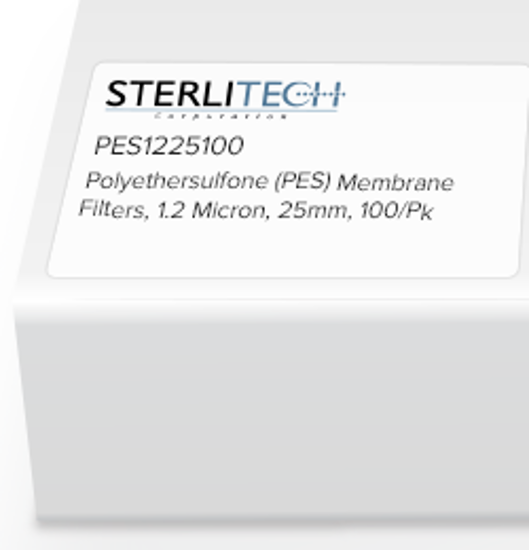 Picture of Sterlitech Polyethersulfone (PES) Membrane Filters - PES1225100